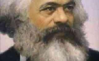 کارل مارکس در آتش